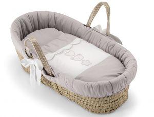 Hübscher Baby Korb / Babykörbchen Birillio