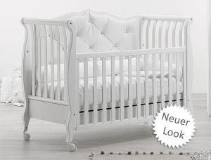NEU: Babybett Rinascimento Chester (Umbaubar zum Sofa)