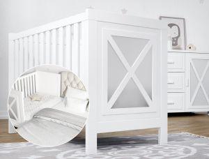 Babybett FARO - mit Beistellbett-Funktion