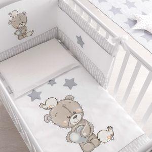 Bettgarnitur / Nestchen für Babybett Love Me