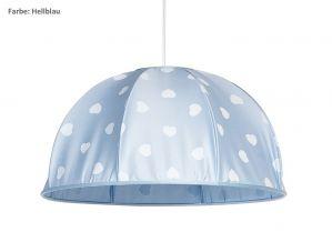 Deckenleuchte, Kinderzimmerlampe Amelie-Hellblau